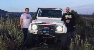 El equipo Team Chuki Power preparado para la disputa de la primera prueba del Campeonato Extremo 4×4 de Andalucía 2019