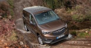 Opel comercializará después del verano una versión 4×4 de su modelo Combo Cargo