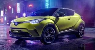 Toyota presenta una serie limitada de 150 unidades de su modelo C-HR en color Amarillo Wasabi