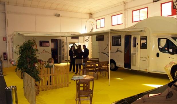 La empresa malagueña Karavan expuso varias unidades de autocaravanas de la marca Benimar.