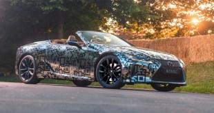 Lexus ampliará la gama de su coupé deportivo LC con una versión descapotable