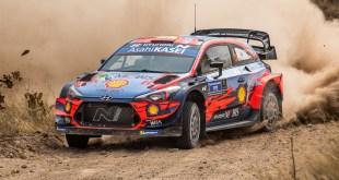 Una avería mecánica en su Hyundai i20 WRC deja sin opciones a Dani Sordo en el Rally de México