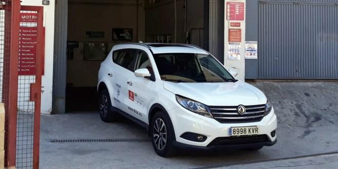 Nuevo DFSK SUV 580 en las instalaciones de Talleres P.Campos