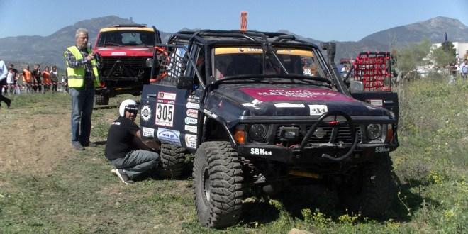 Nissan Patrol participante en el CAEX 4x4