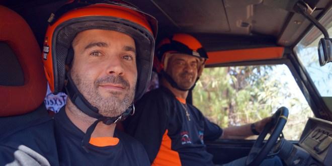 Carlos Ruiz y Salvador Moral participaron en las jornadas de entrenamiento Extreme 4x4.
