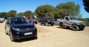 DFSK colabora con la organización de las jornadas de entrenamiento Extreme 4×4 celebradas en Huelva