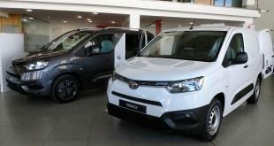 Toyota Cumaca Motor aumenta la familia de vehículos comerciales con el nuevo Proace City