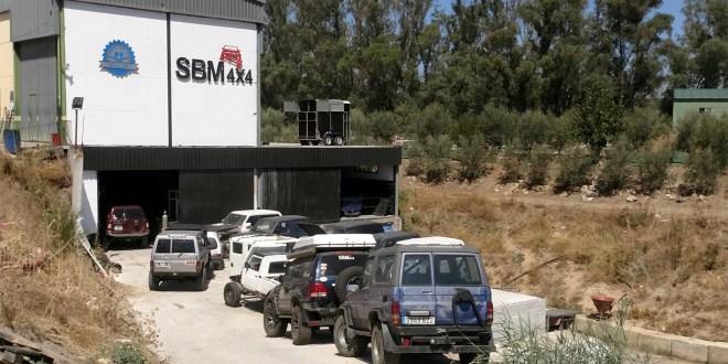 Nuevas instalaciones en Cártama del preparador SBM 4x4.