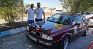 El equipo Salru Competición consigue la segunda posición en el Rally Clásica Sierra Centro en Guadalajara