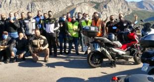 Éxito de organización y participación en la I Ruta Honda X-ADV organizada por Servihonda