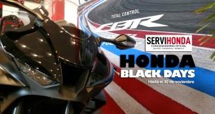 Los Honda Black Days llegan a Servihonda con importantes descuentos y ofertas especiales