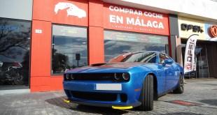 El espectacular súper deportivo Dodge Challenger SRT Hellcat, V8 de más de 700 CV de potencia, llega a Málaga de la mano de Grupo CABMEI ICARS