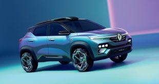 Renault presenta para el mercado indio el nuevo SUV Kiger Show-Car