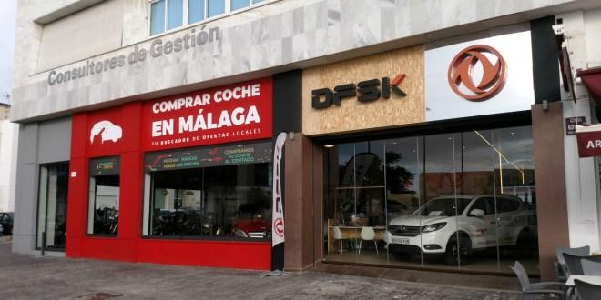 Fachada de Comprar Coche en Málaga y DFSK.