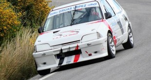 El piloto malagueño Antonio Zambrana, con Citroën AX y patrocinado por Autodesguace CAT La Mina, participará en la Subida a Montoro este fin de semana