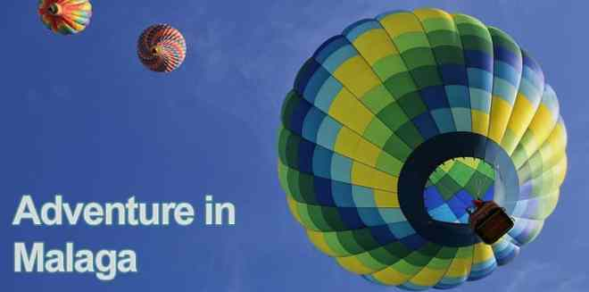 Balloon adventure in Malaga