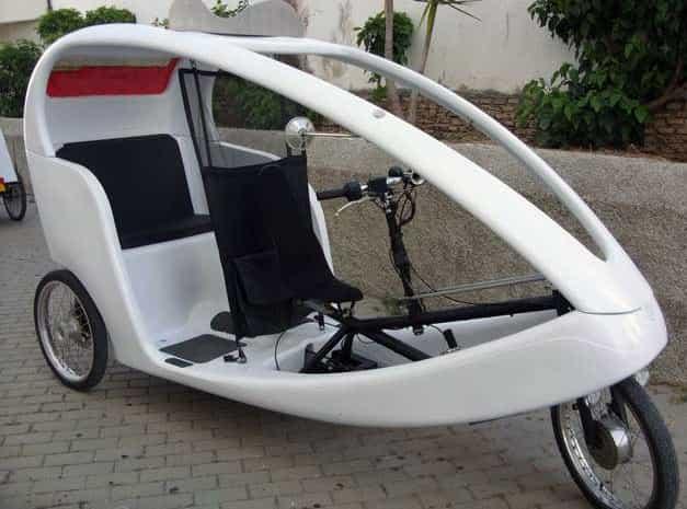 Bike Taxi in Malaga