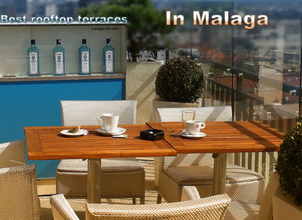 Best rooftop terraces in Malaga