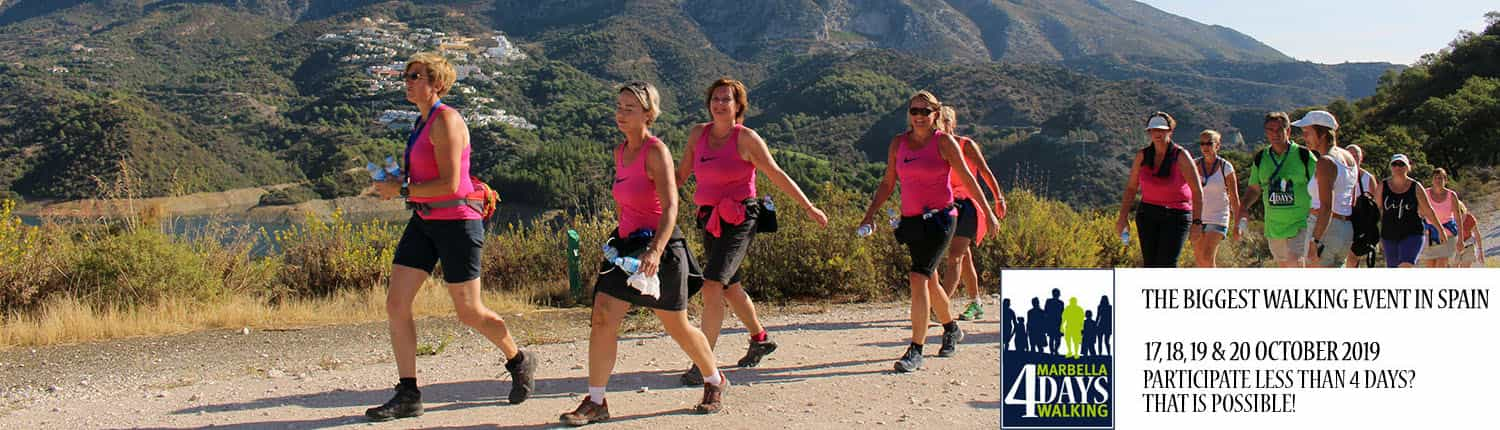 Marbella 4 Days Walking 2019