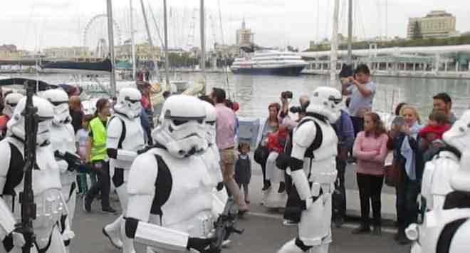 Star Wars Parade in Malaga