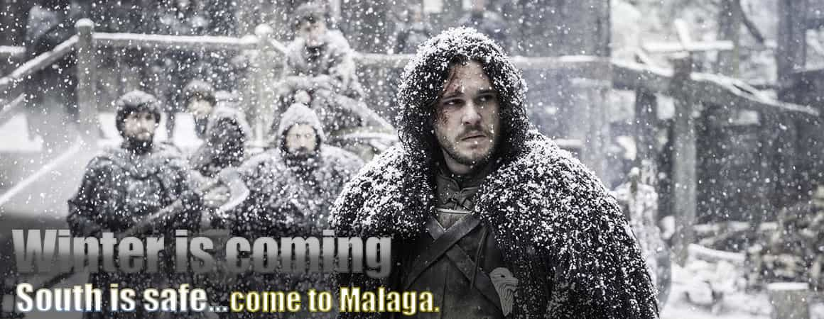 Winter is coming, come to Malaga