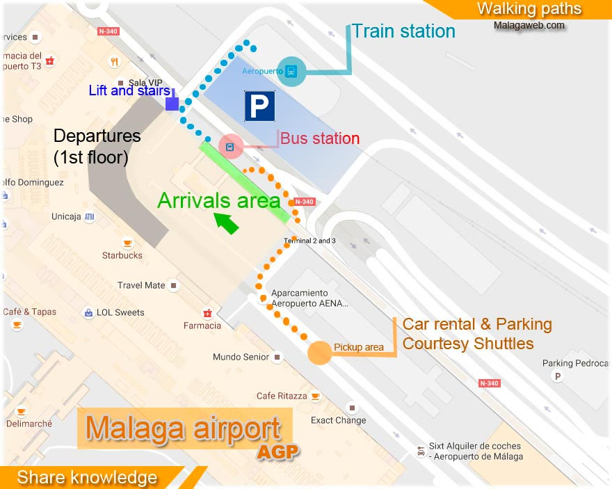 Malaga airport arrivals All you need to know after landing