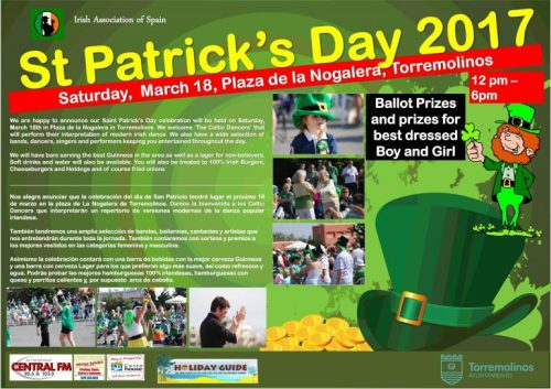 St. Patrick's day in Torremolinos