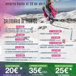 Sierra Nevada activities and discounts in April, 2017