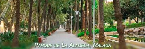 Alameda Park in Malaga