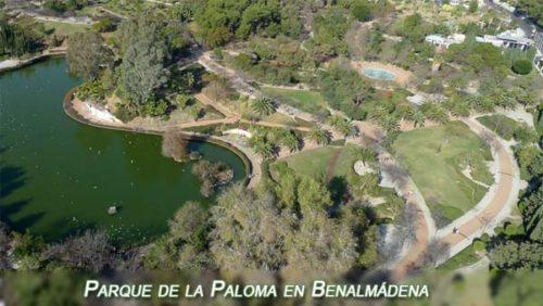 Parque de la Paloma in Benalmadena