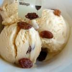 Malaga ice cream flavor