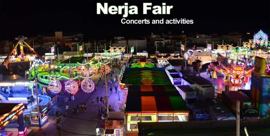 Nerja Fair in October 2018 - Fair program and activities