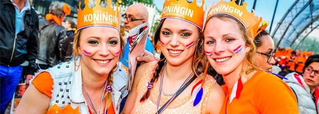 Koningsdag oder Niederländischer Tag - Wo feiert man es in Torremolinos?