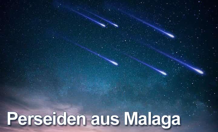 Perseiden Meteor-Regen in Málaga 2018: Wann, wo und wie man ihn sieht