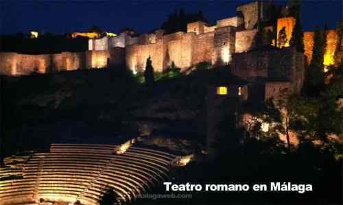 Römisches Theater in Malaga