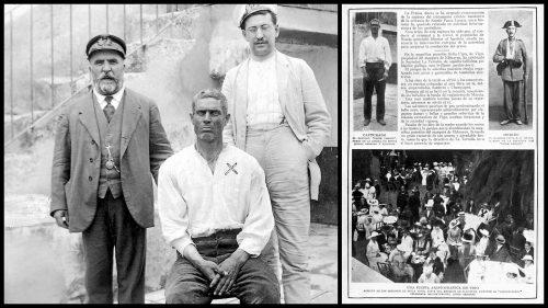 Pasos Largos en 1916, carcel de Ronda