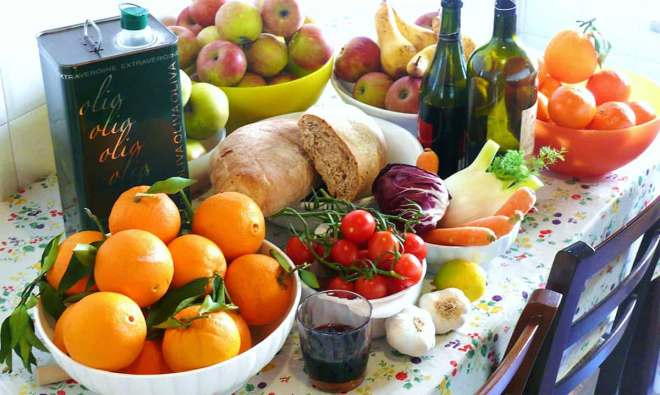 Ingredientes dieta mediterránea