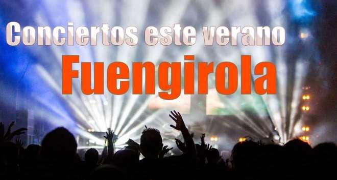 Conciertos este verano en Fuengirola