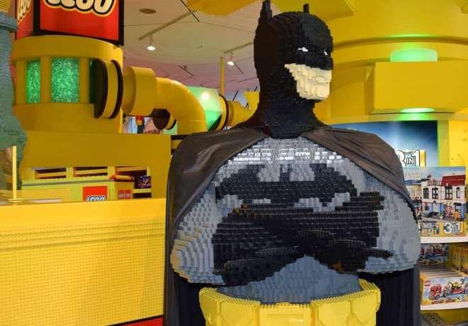 Batman hecho con Lego