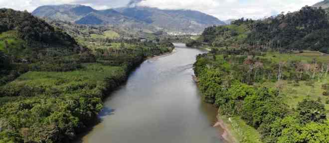 Paisaje de Amazonia