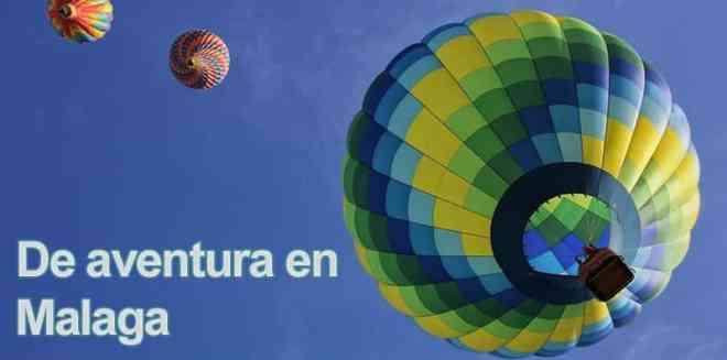 Aventura en globo en Málaga