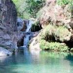 Piscinas naturales en Barranco Blanco, Coín