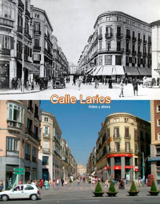 Evolución de la Calle Larios