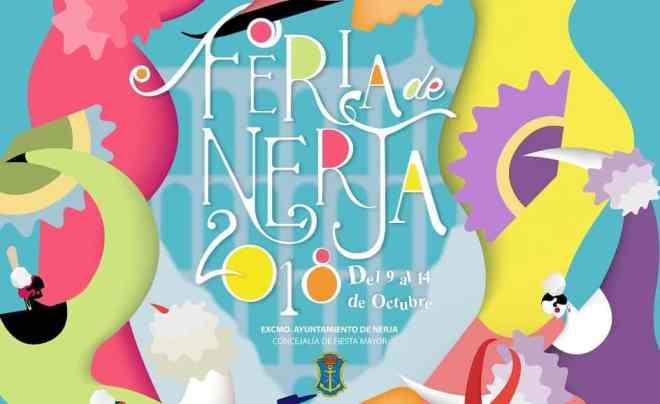 Cartel de la Feria de Nerja 2018