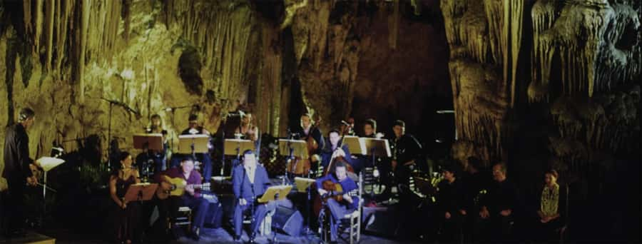 Festival Cueva de Nerja durante las noches de verano