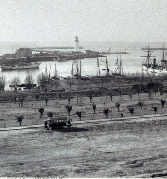 Construcción del Parque de Málaga