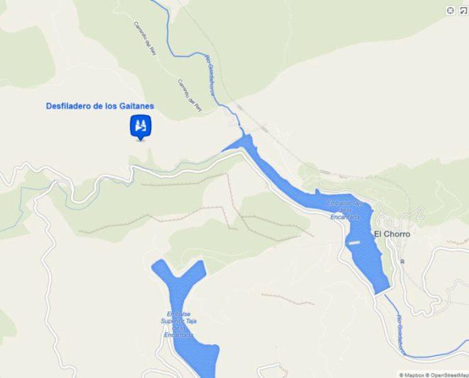 mapa desfiladero-gaitanes