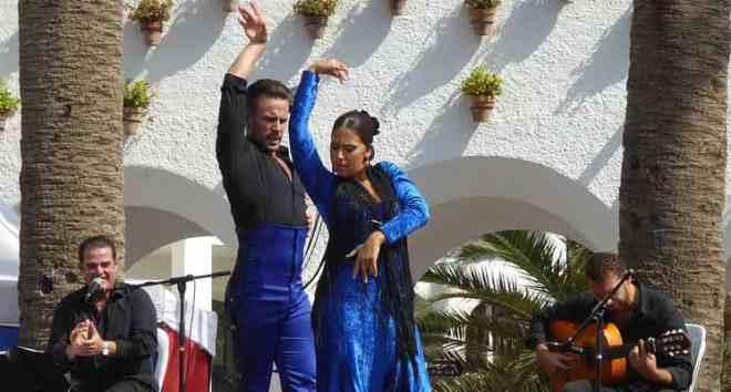 Flamenco perfomance in Malaga