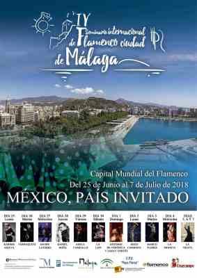 Festival Internacional Flamenco Ciudad de Málaga 2018