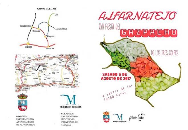 Fiesta del Gazpacho en Alfarnatejo